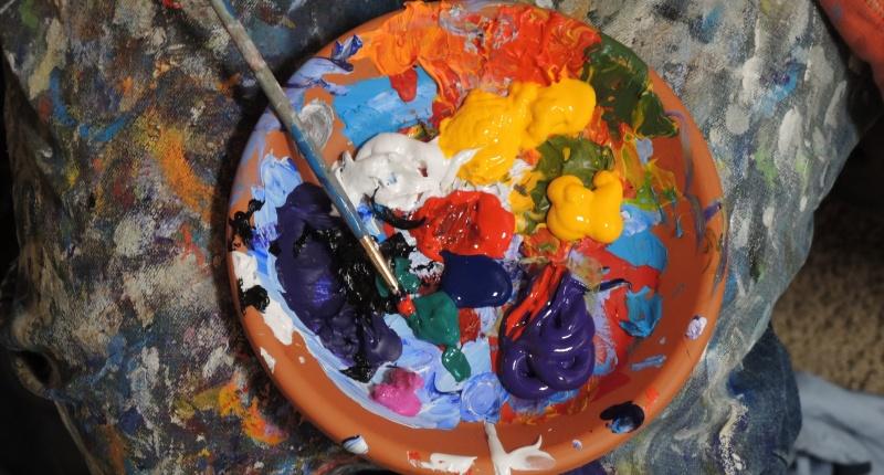 Pouring Acryl - Was für Zubehör ist beim Acrylic Pouring notwendig?