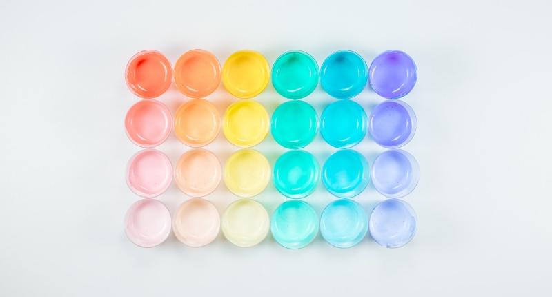 Pouring Acryl - Welche Farben lassen sich für das Acryl Pouring einsetzen?